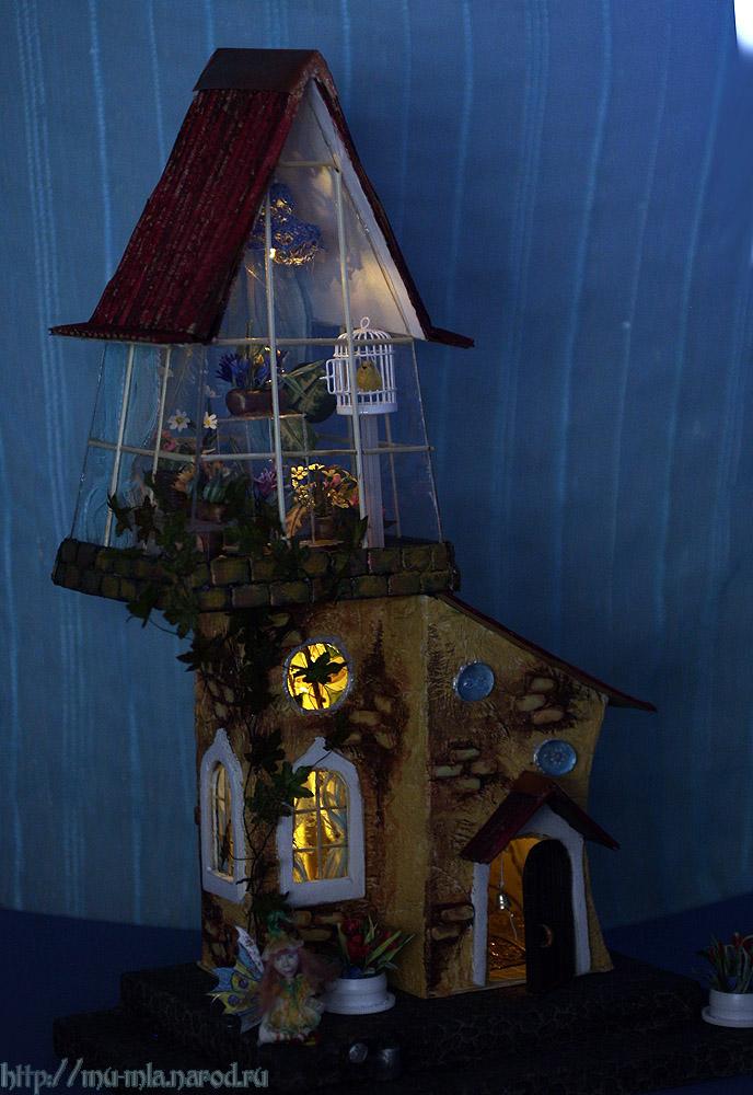 Волшебная оранжерея от Анастасии Александровой Orangereya-night2