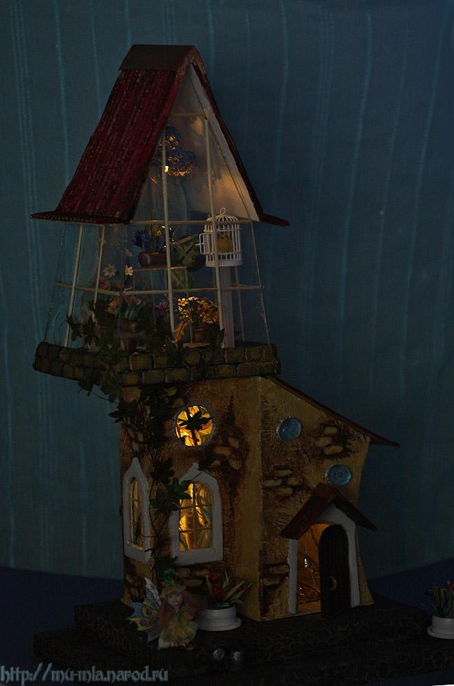 Волшебная оранжерея от Анастасии Александровой Orangereya-night3