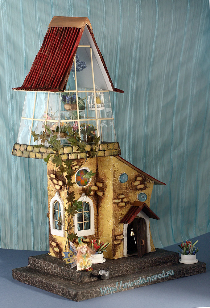 Волшебная оранжерея от Анастасии Александровой Orangereya2