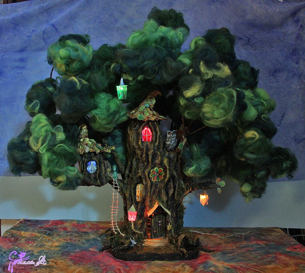 Как сделать сказочное дерево своими руками 88